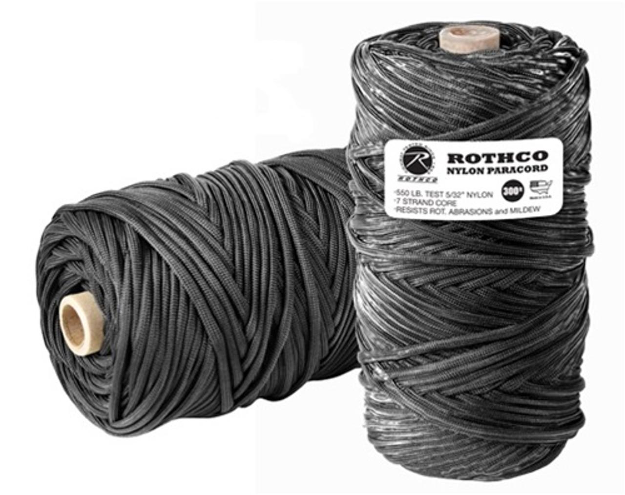 Nylon Paracord 550Lb 300' Tube