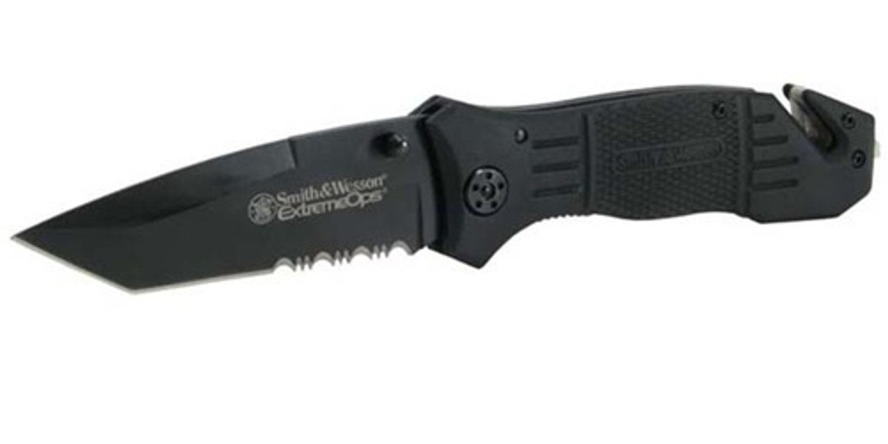 SMITH & WESSON EXTREME OPS RESCUE KNIFE from Hessen Tactical