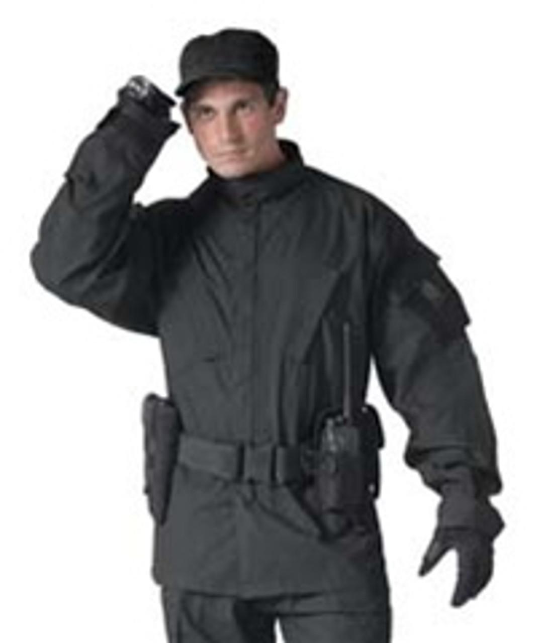 Black ACU Shirt from Hessen Tactical