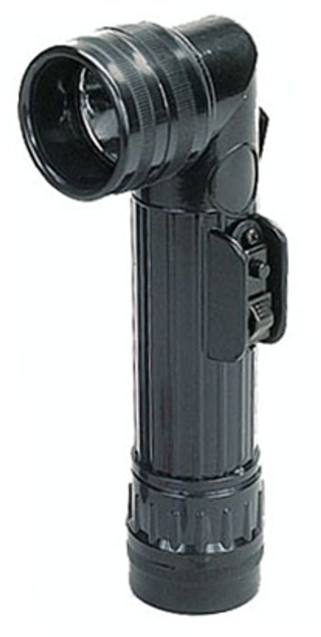 G.I. Type Angle-Head Flashlights: Black from Hessen Antique