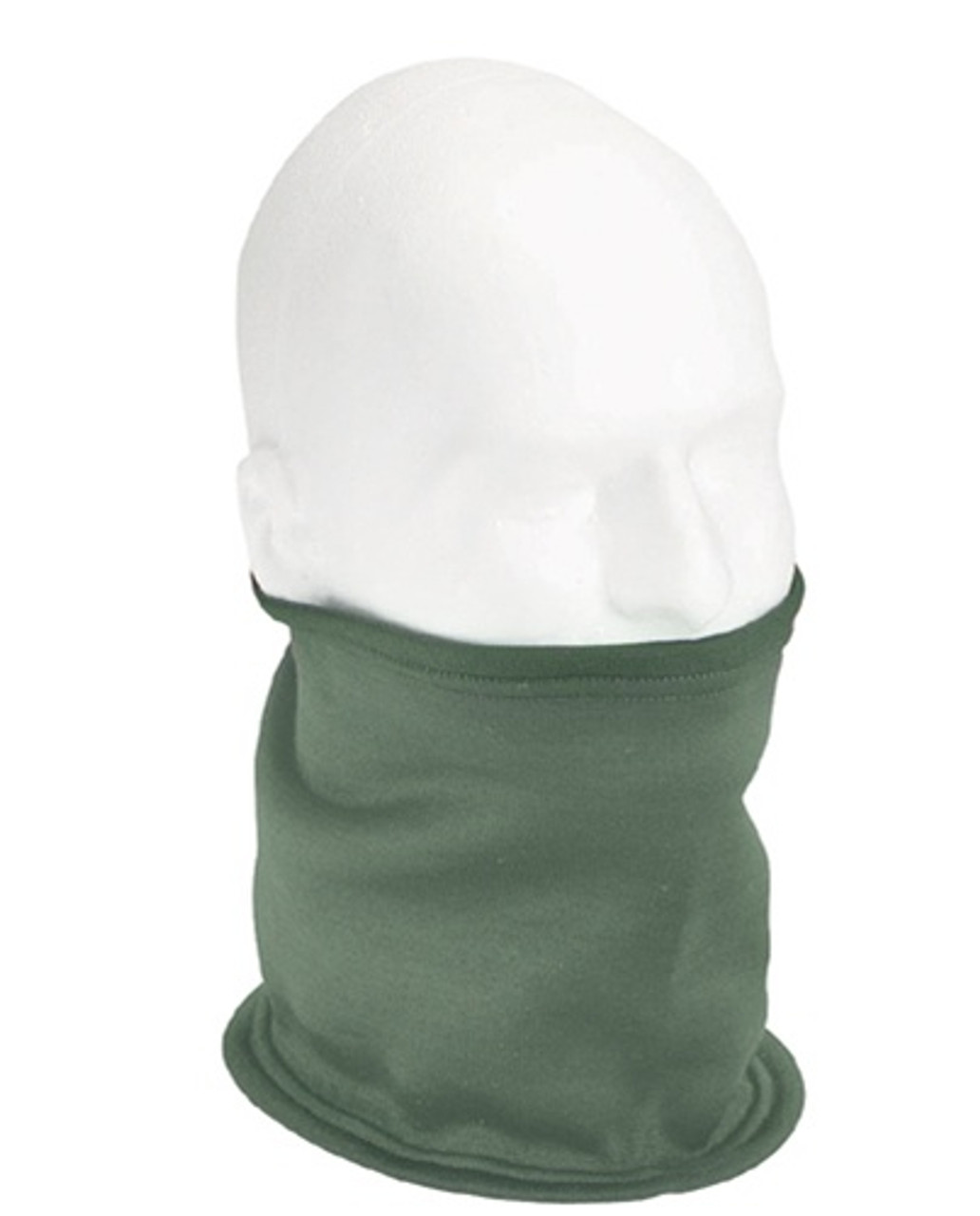 New fleece lined polypropylene neck gaiter.  Can be worn as a hood, ear band or face mask.  A must have item for gunners and other vehicle crew members.  One size fits all.  Sand.