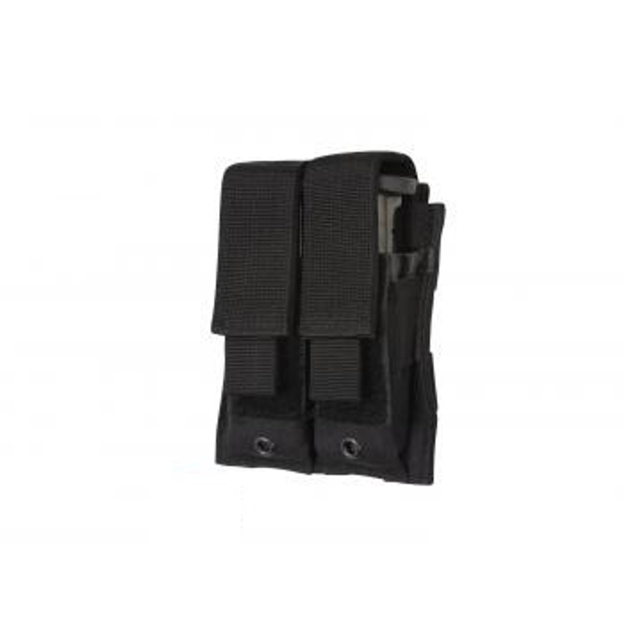 Double Pistol Mag Pouch Black