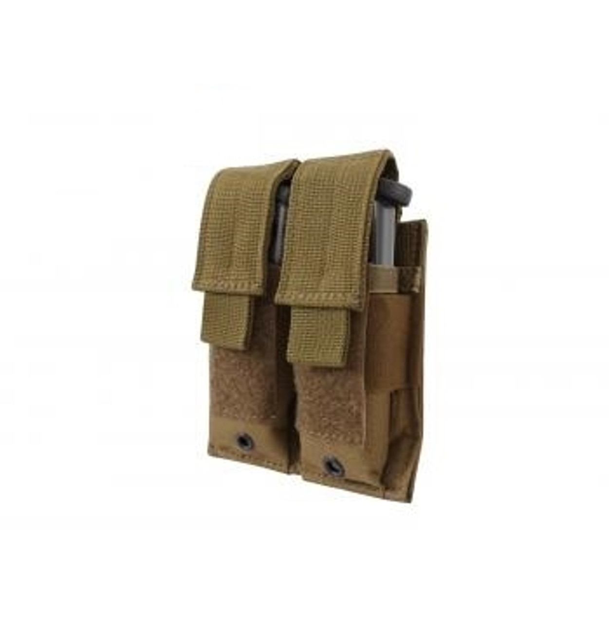 Double Pistol Mag Pouch Coyote