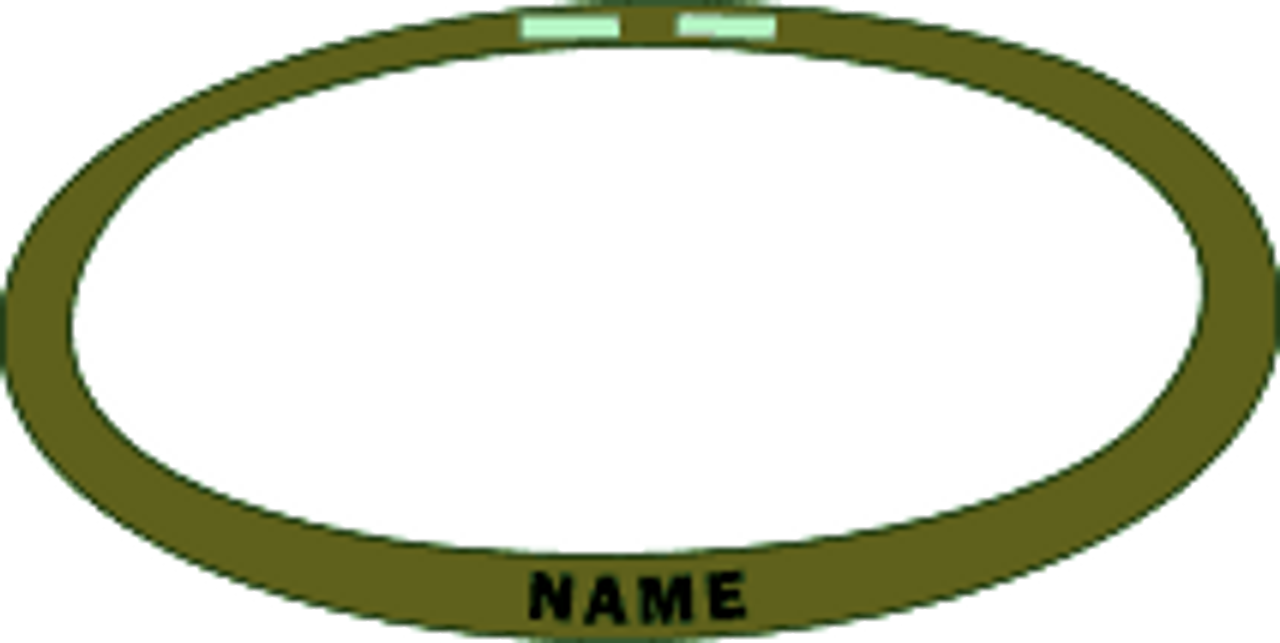 TOD KEVLAR HELMET BANDS WITH NAME from Hessen Tactical