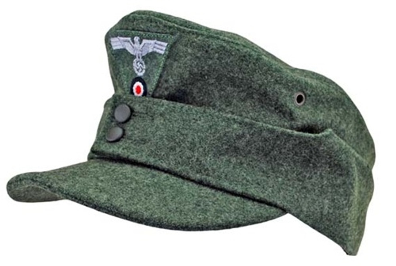 WH Army Enlisted M43 Field cap from Hessen Antique