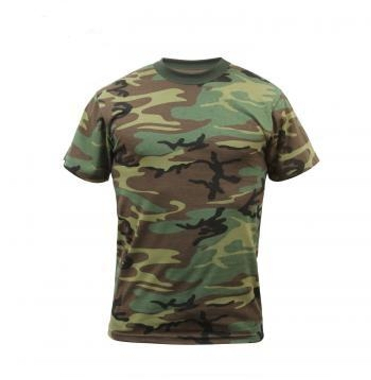 Camo T-Shirts - Woodland Camo from Hessen Tactical