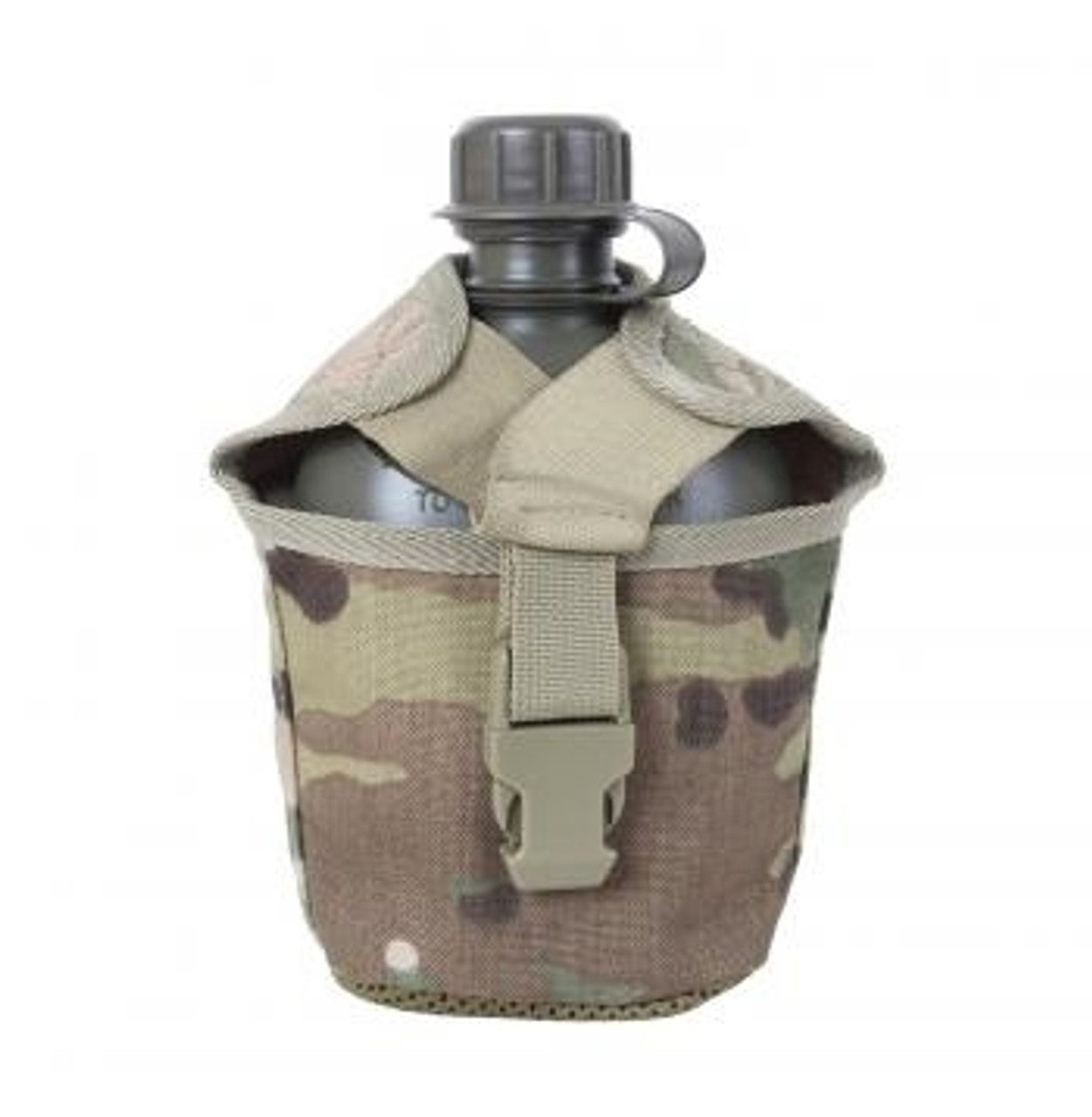 MOLLE pouch for the 1 Quart canteen.  MultiCam camouflage.