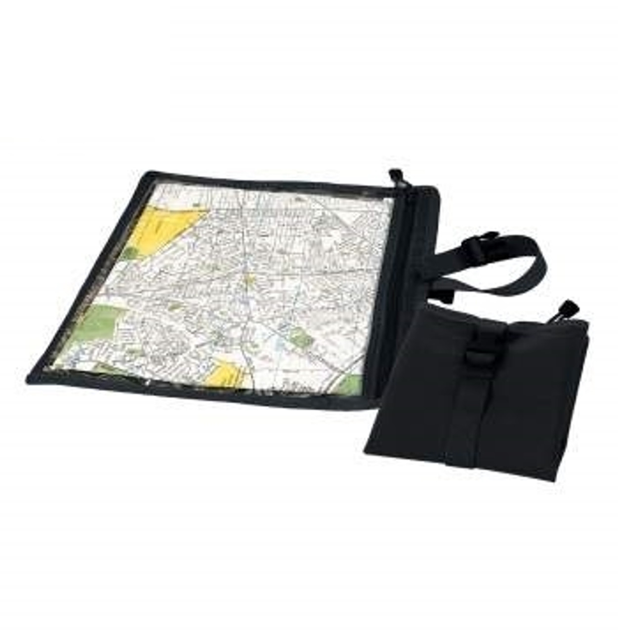 Map and Document Case - Black from Hessen Antique