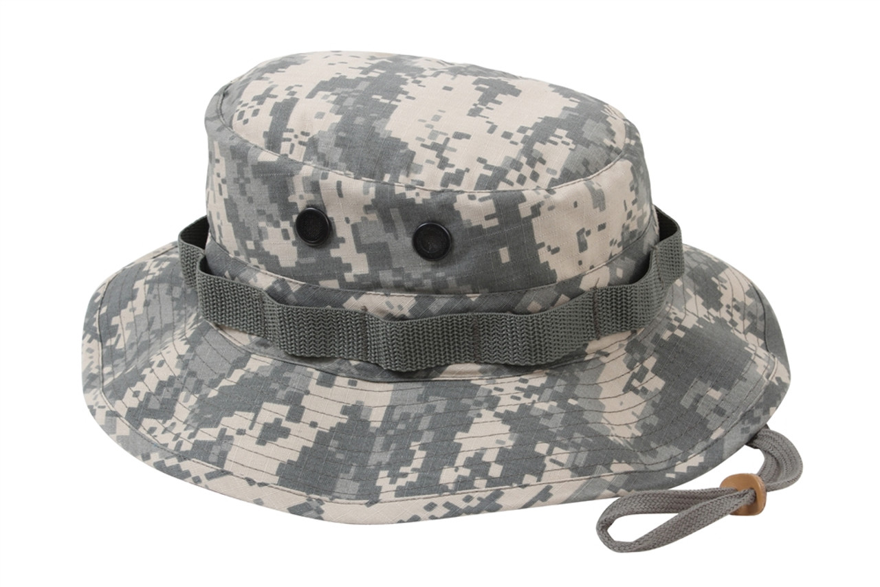 ACU Boonie Hat ripstop from Hessen Tactical.