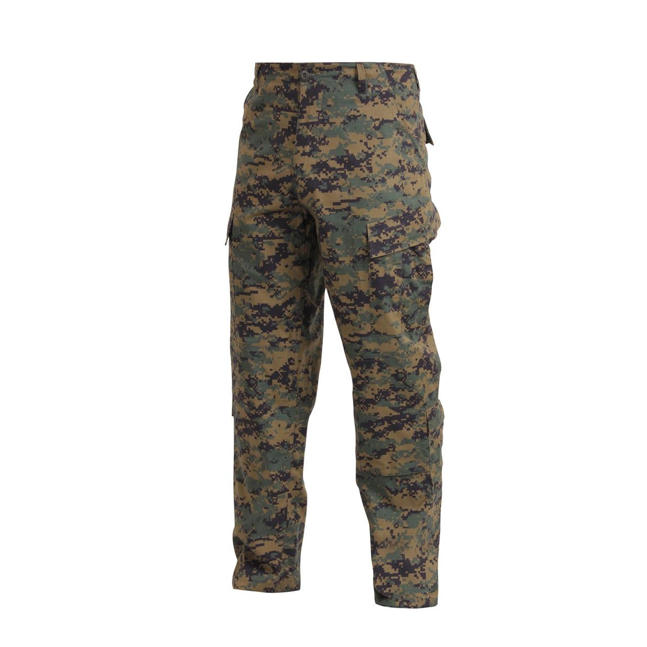 Woodland Digital Camo Trousers