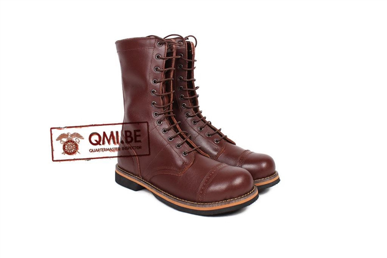 QMI WWII GI Jump Boots, US Paratrooper  from Hessen Antique