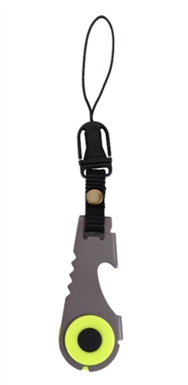 Zipper Pull Flashlight & Bottle Opener from Hessen Militaria
