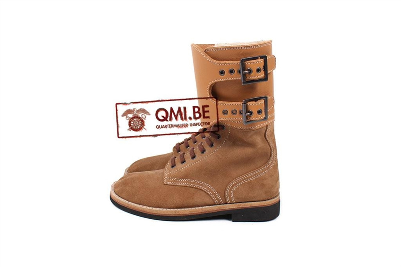 QMI WWII GI Boots, Service, Combat (Buckle boots) from Hessen Antique