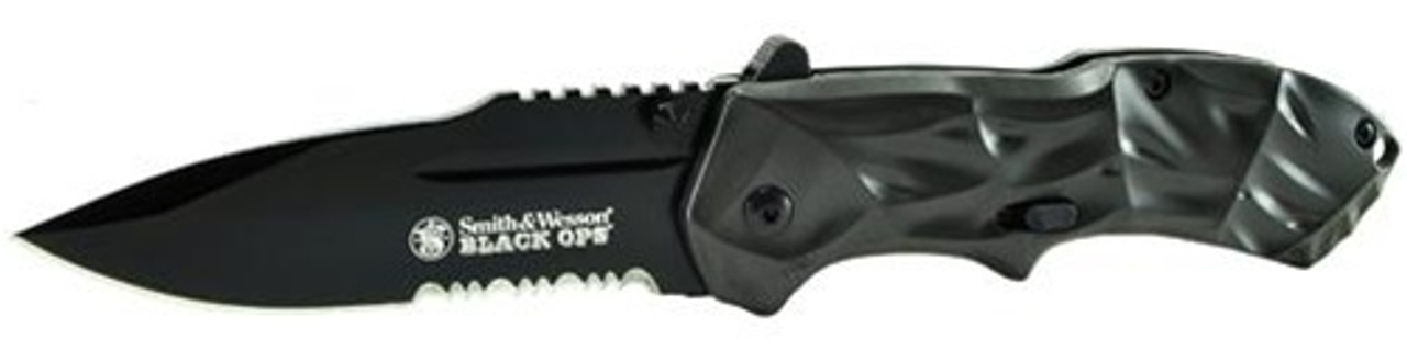 SMITH AND WESSON BLACK OPS ASSISTED OPEN KNIFE