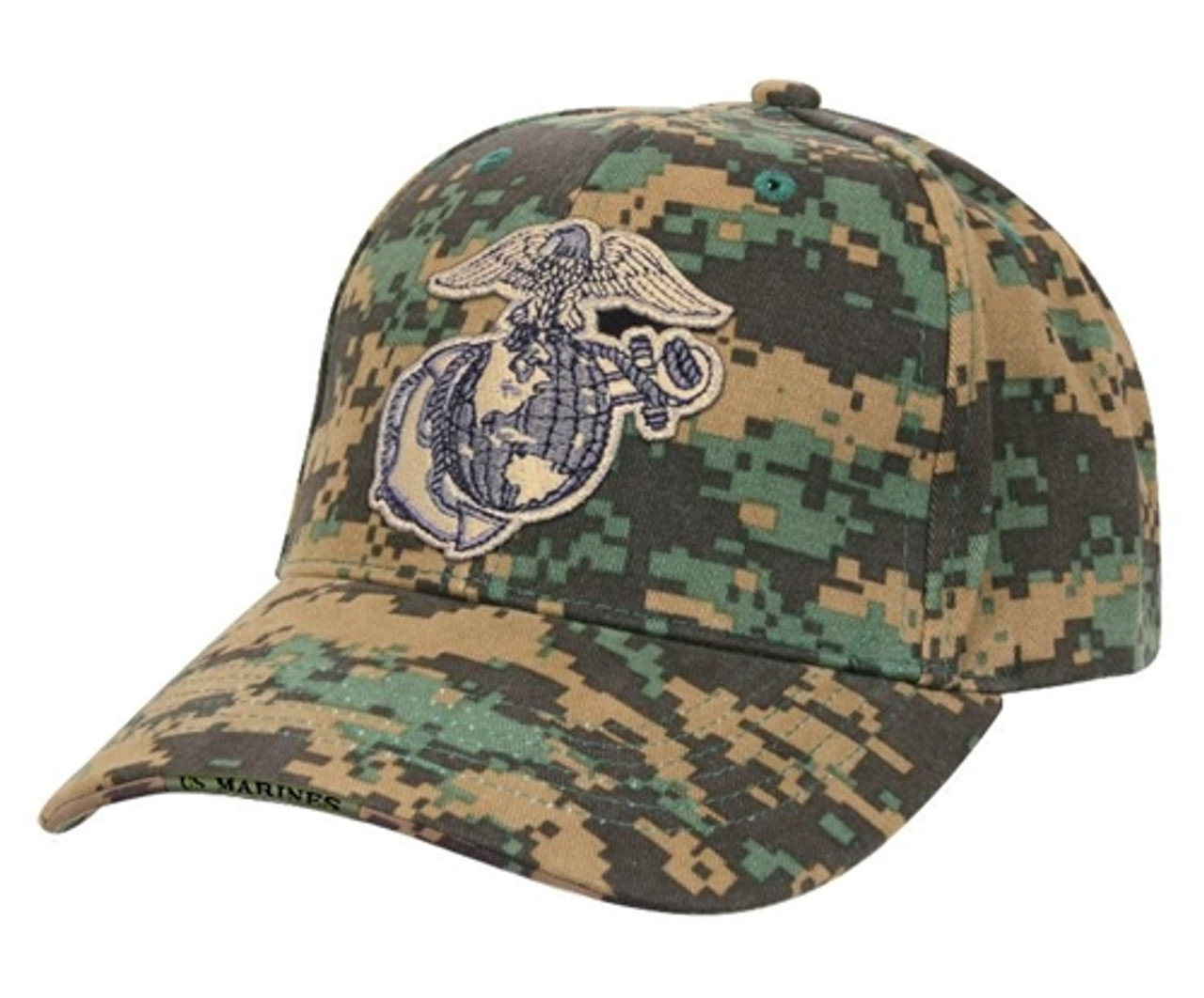 USMC Globe & Anchor Low Profile Insignia Cap from Hessen Tactical
