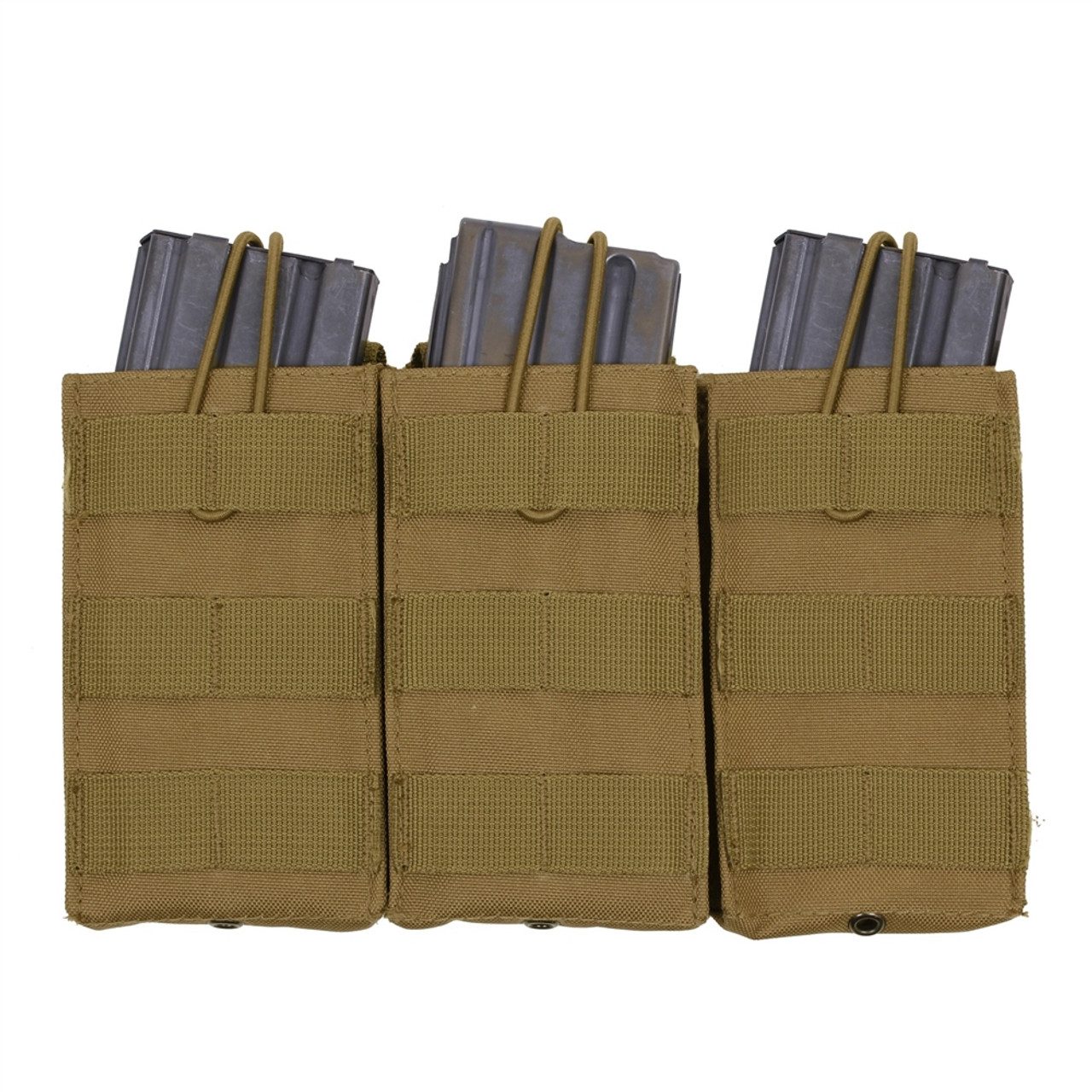 Coyote, MOLLE, Open Top, Triple Mag Pouch,