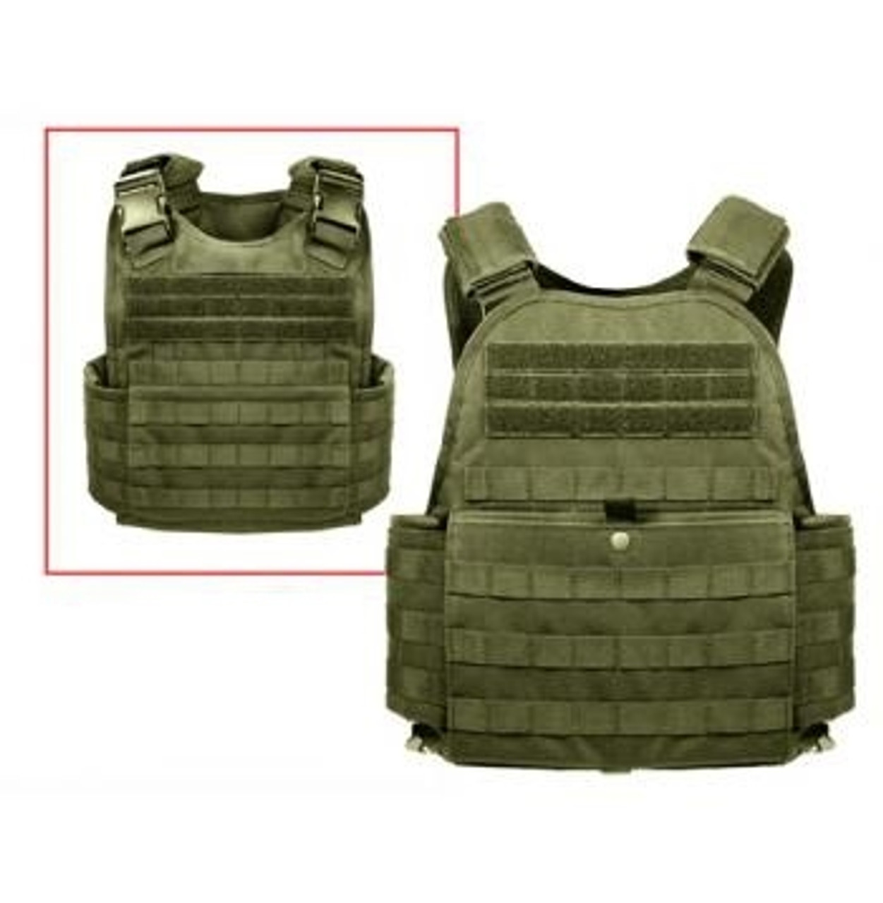 M.O.L.L.E. Plate Carrier Vest - OD