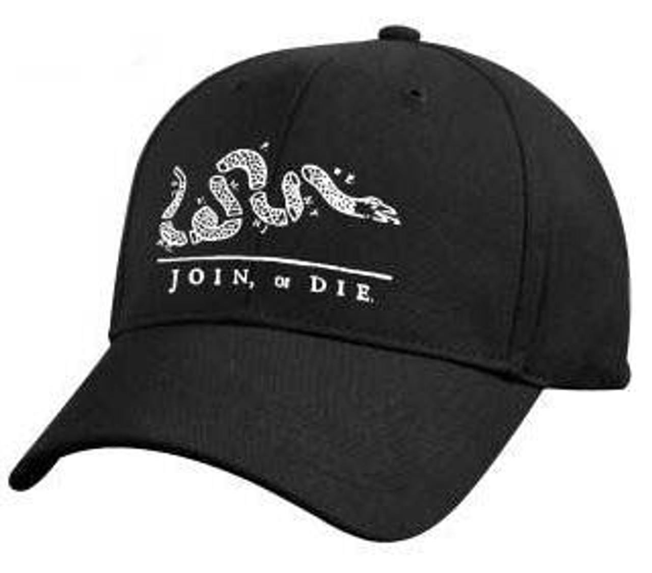'Join Or Die' Deluxe Low Profile Cap from Hessen Antique