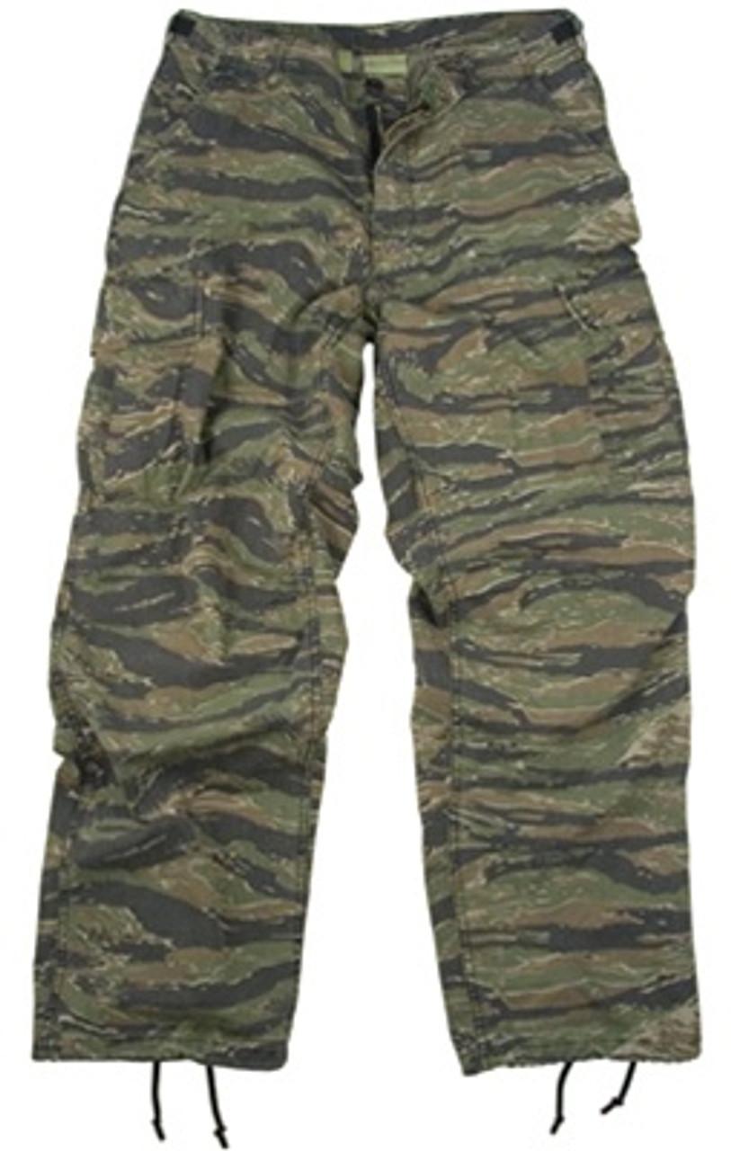 Vietnam Era Tiger Stripe Fatigue Trousers from Hessen Tactical