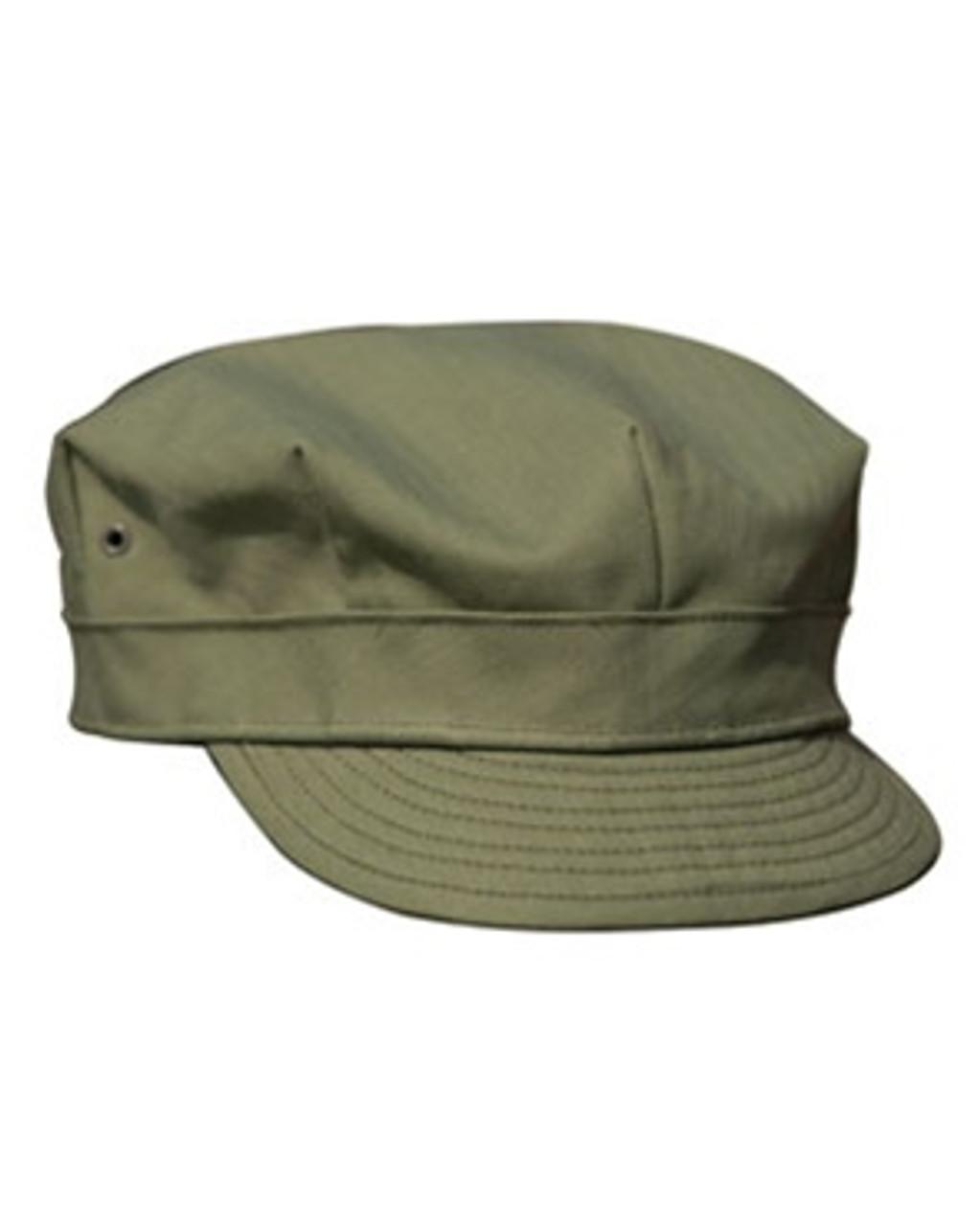 US WWII HBT Cap from Hessen Antique