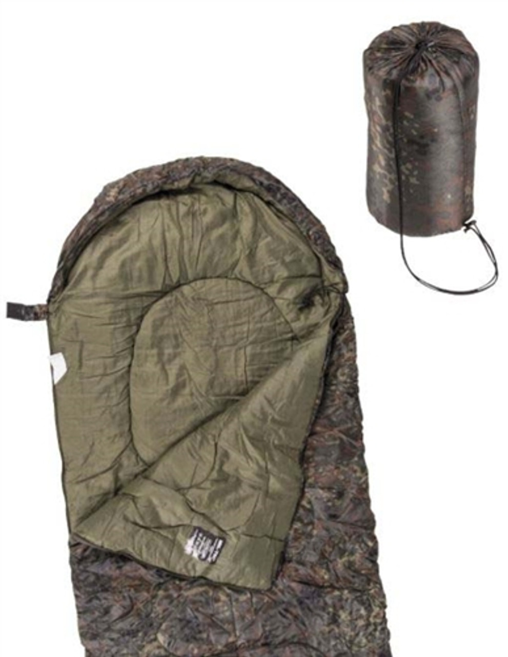 BW Style Lightweight Mummy Sleeping Bag - Hessen Tactical