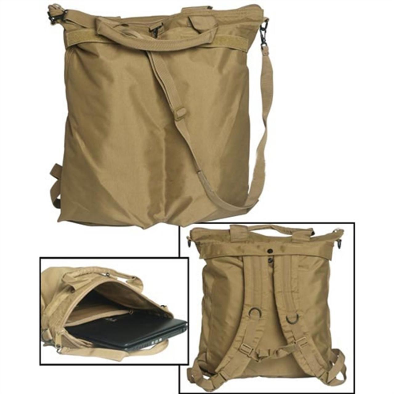 Improved Flyers Helmet Bag - Coyote from Hessen Antique Militaria