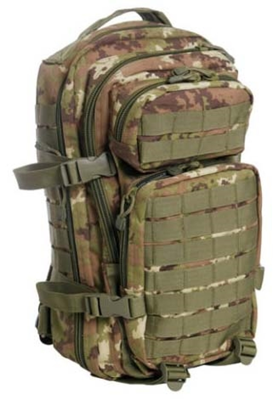 Italian Vegetato Camo Assault Pack - Small Hessen Antique