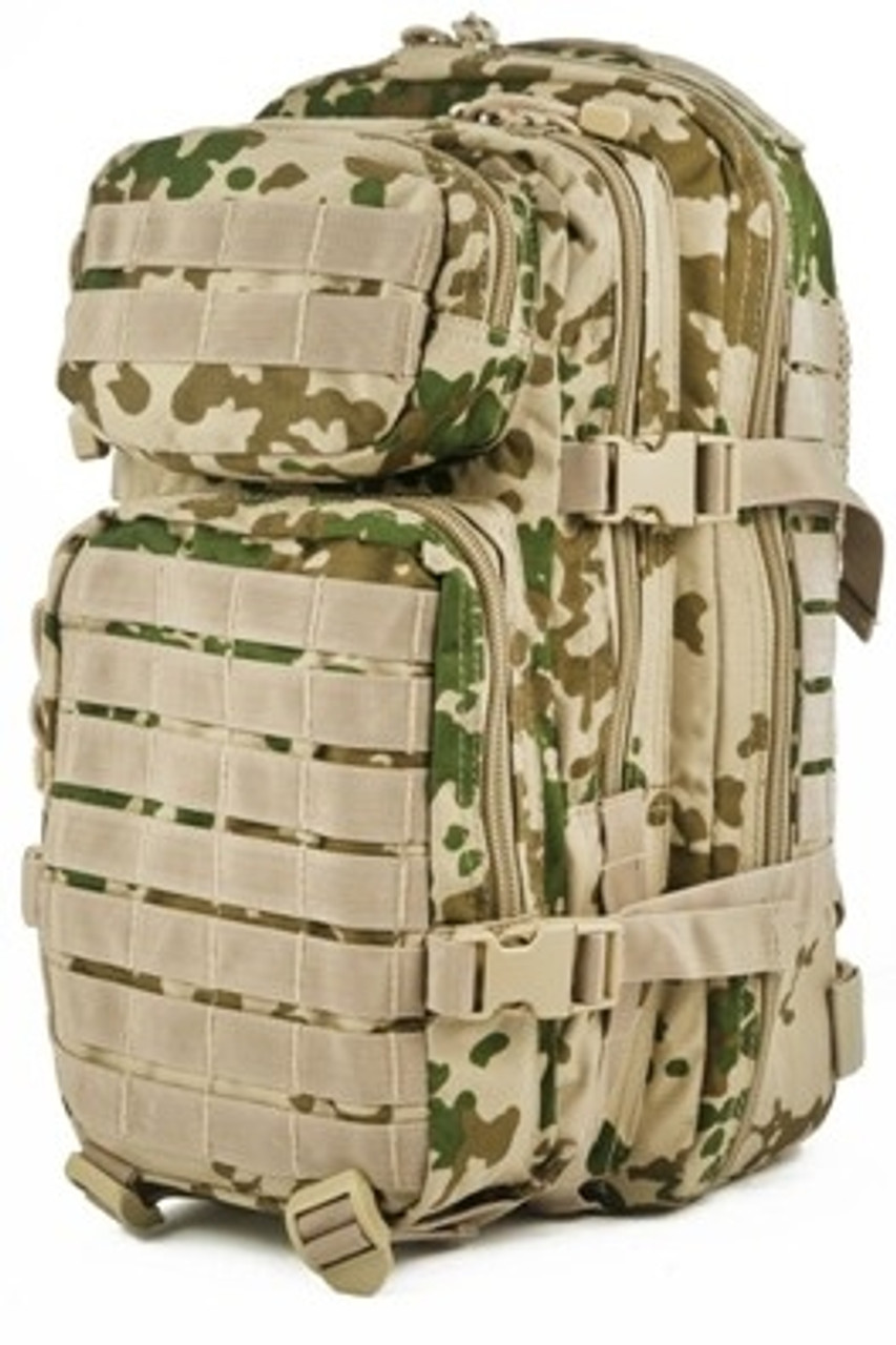 Tropical Flecktarn Assualt Pack - Small Hessen Antique