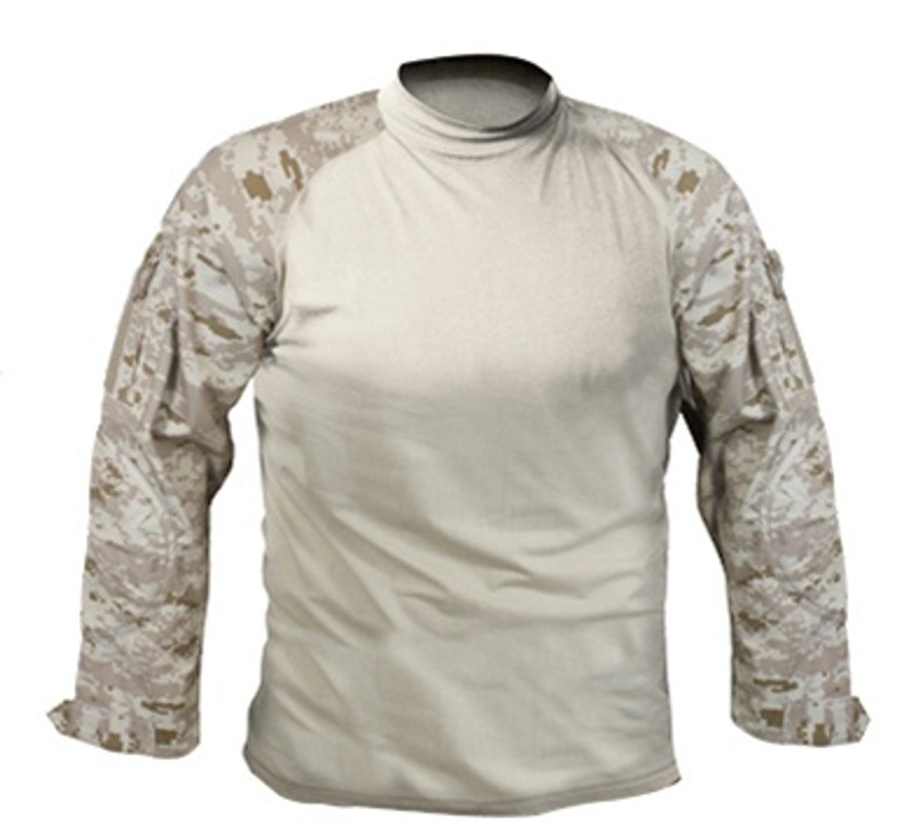 Desert Digital Camo Combat Shirt from Hessen Tactical