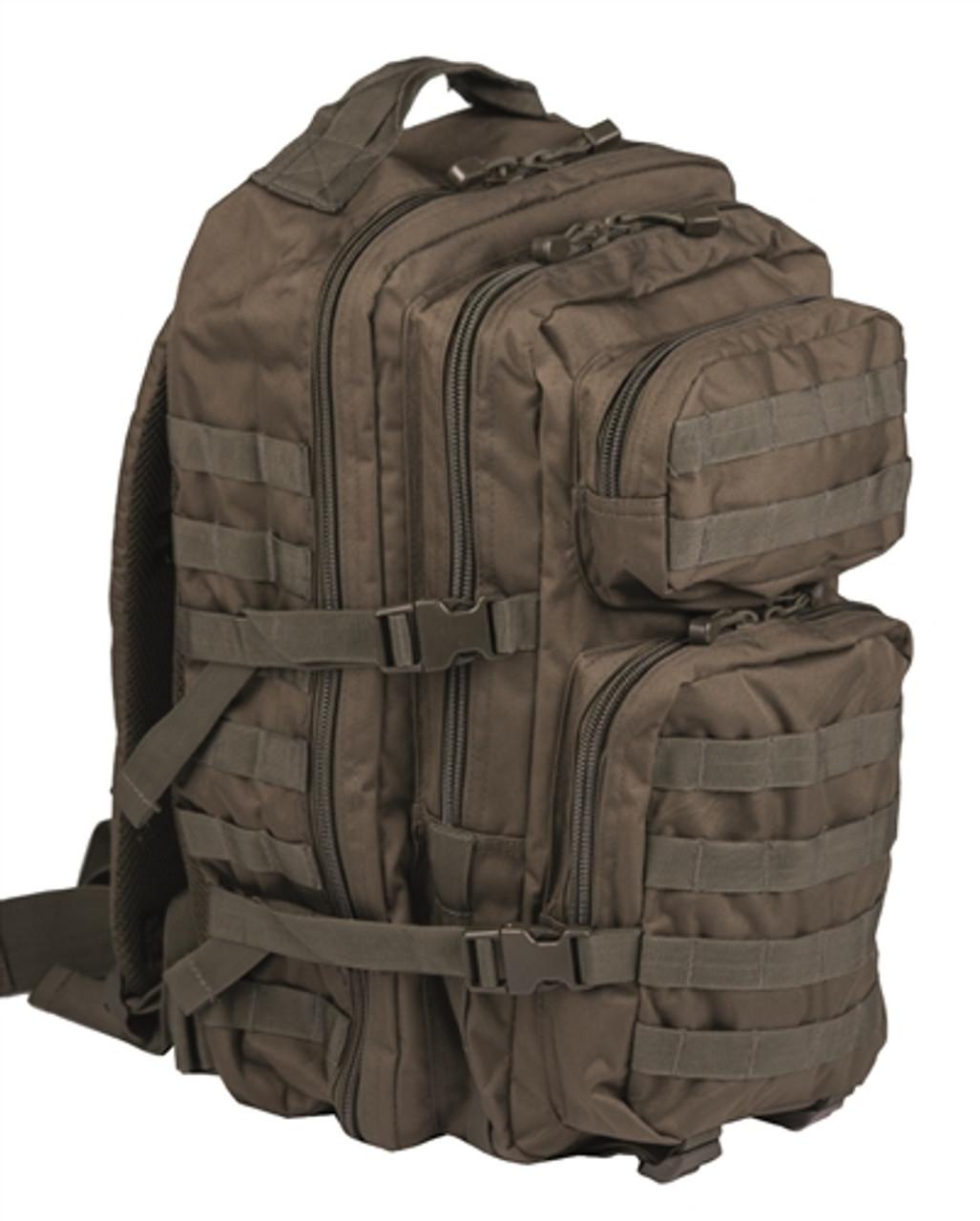 OD Assault Pack  -  Large Hessen Antique