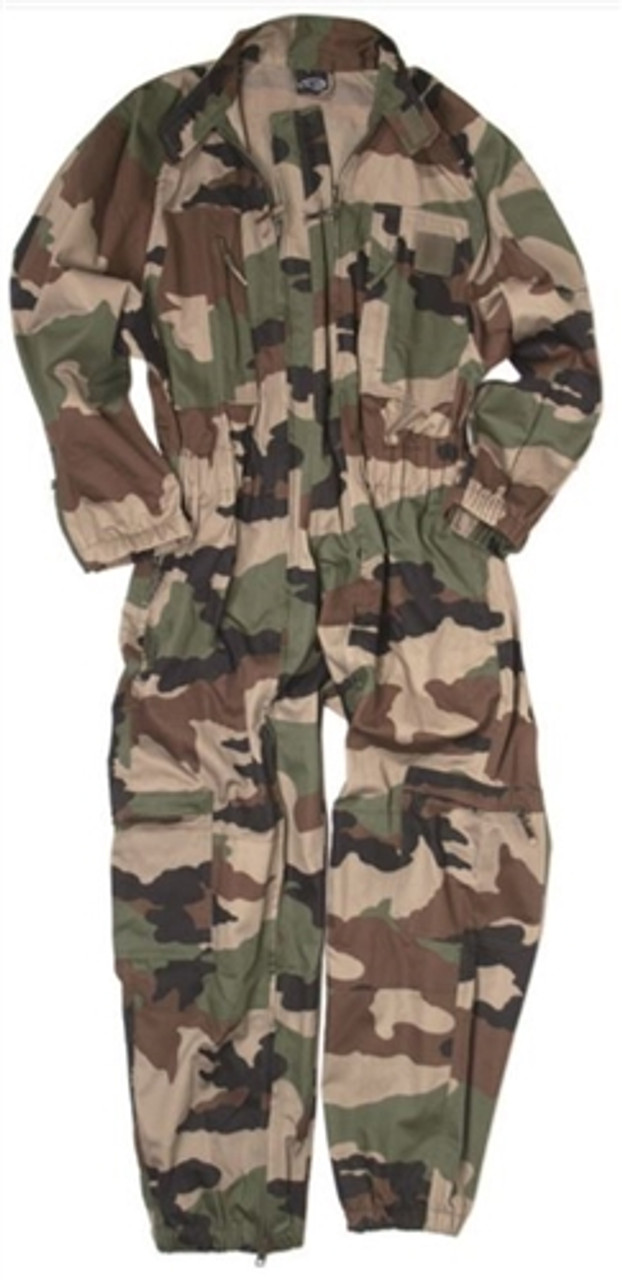 Mil-Tec French CCE Style Camo Coverall - New from Hessen Surplus