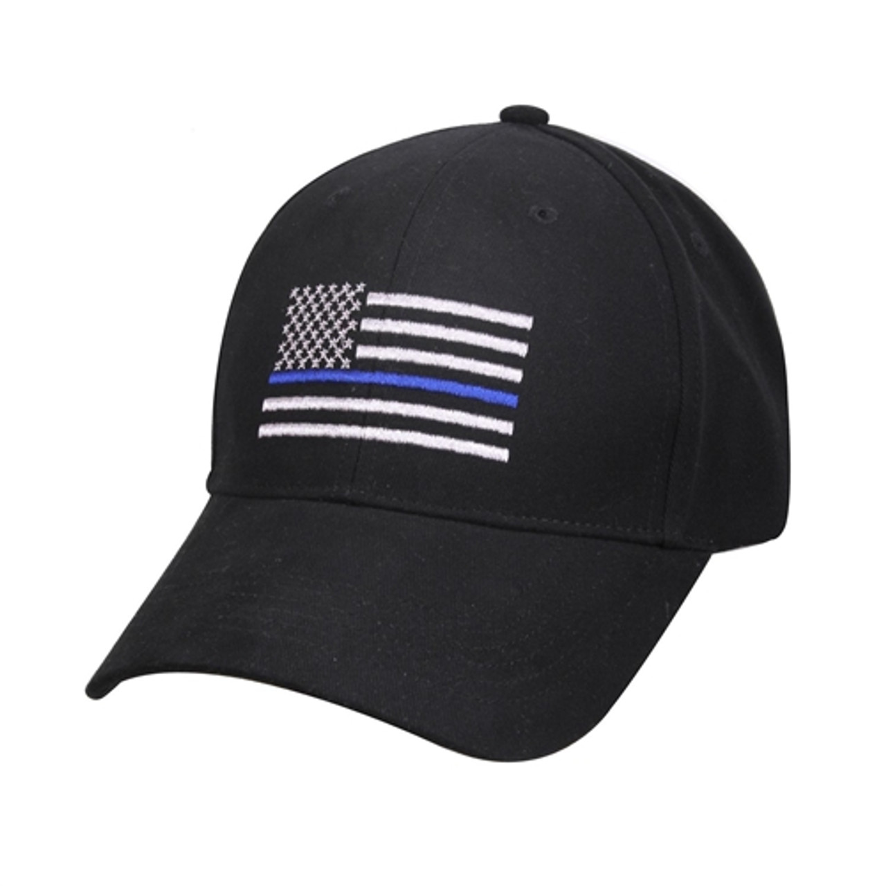 Thin Blue Line Flag Low Profile Cap from Hessen Tactical.