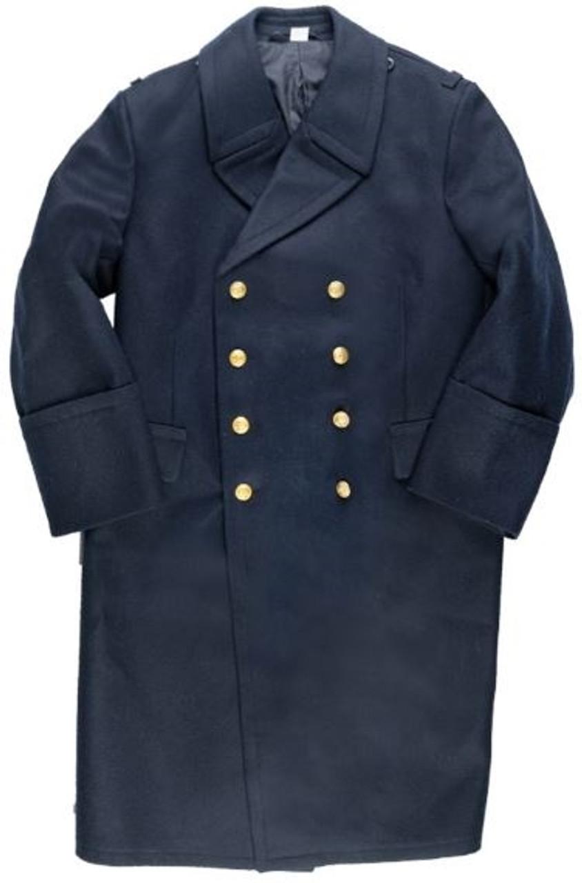 Polish Navy Pea Coat from Hessen Surplus