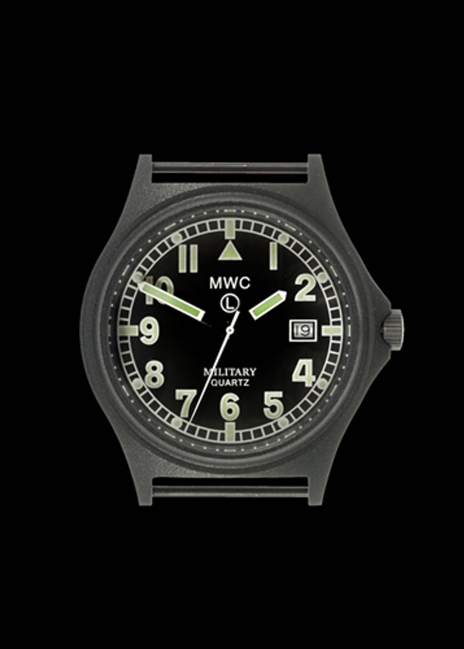 G10 100m PVD Stealth Military Watch with Screw Crown & Caseback from Hessen Militaria