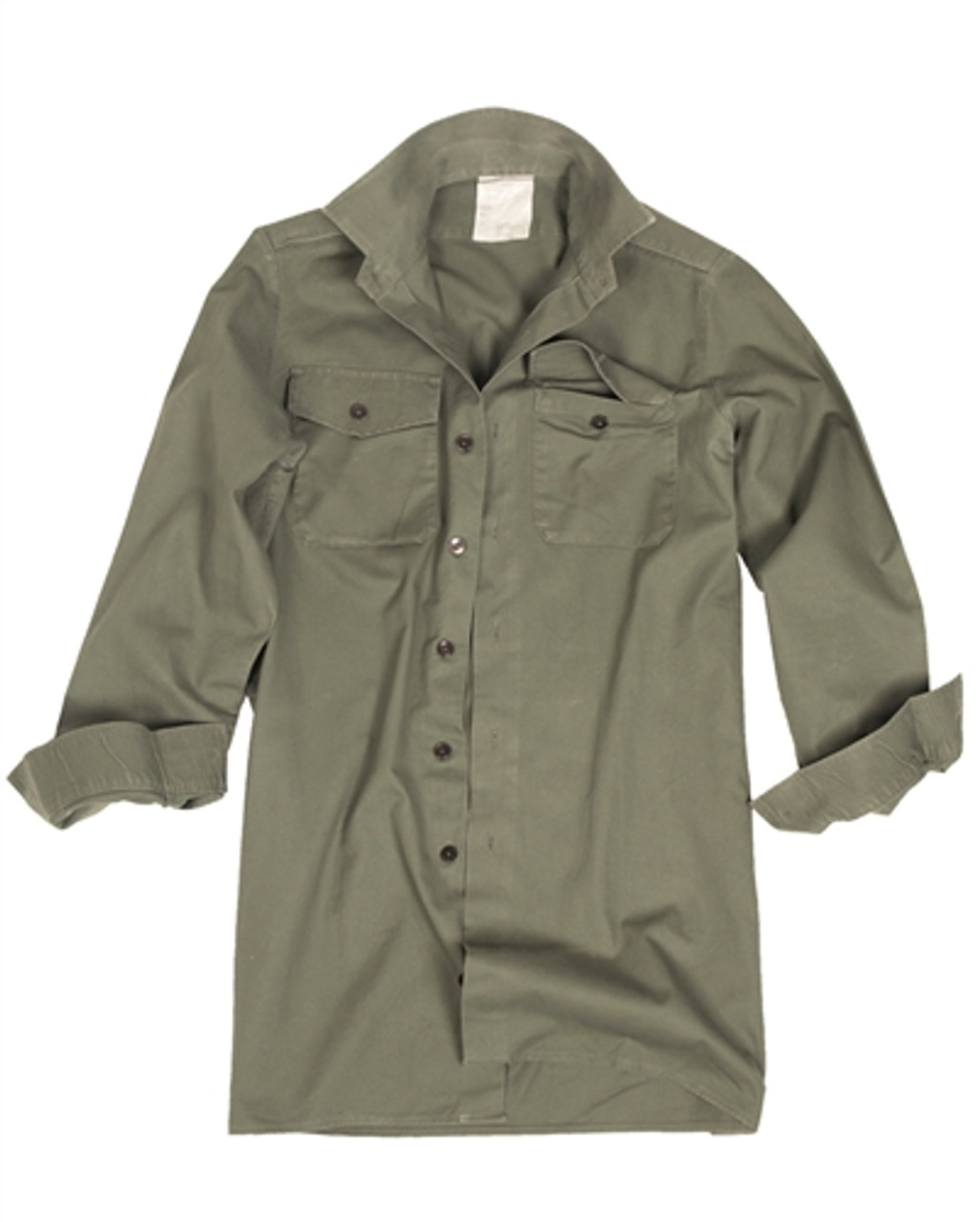 British OD Long Sleeve Service Shirt  from Hessen Surplus