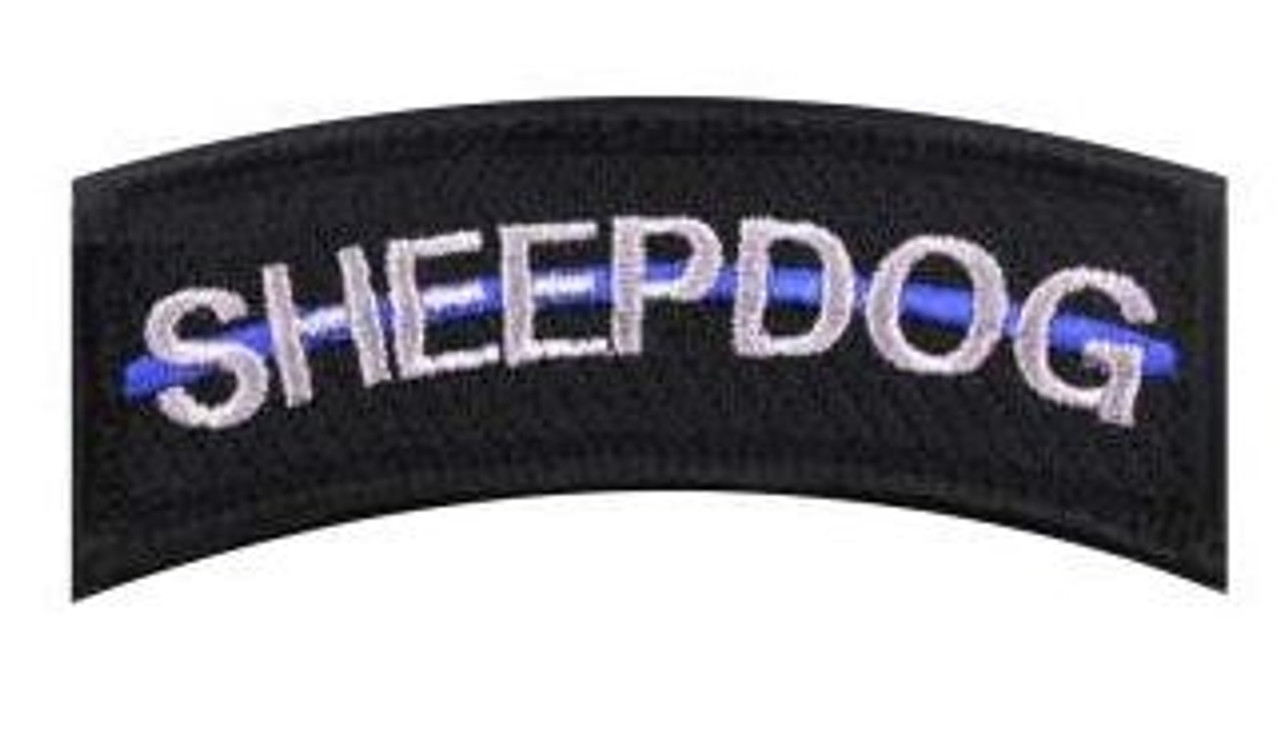 Thin Blue Line Sheep Dog Patch from Hessen Antique