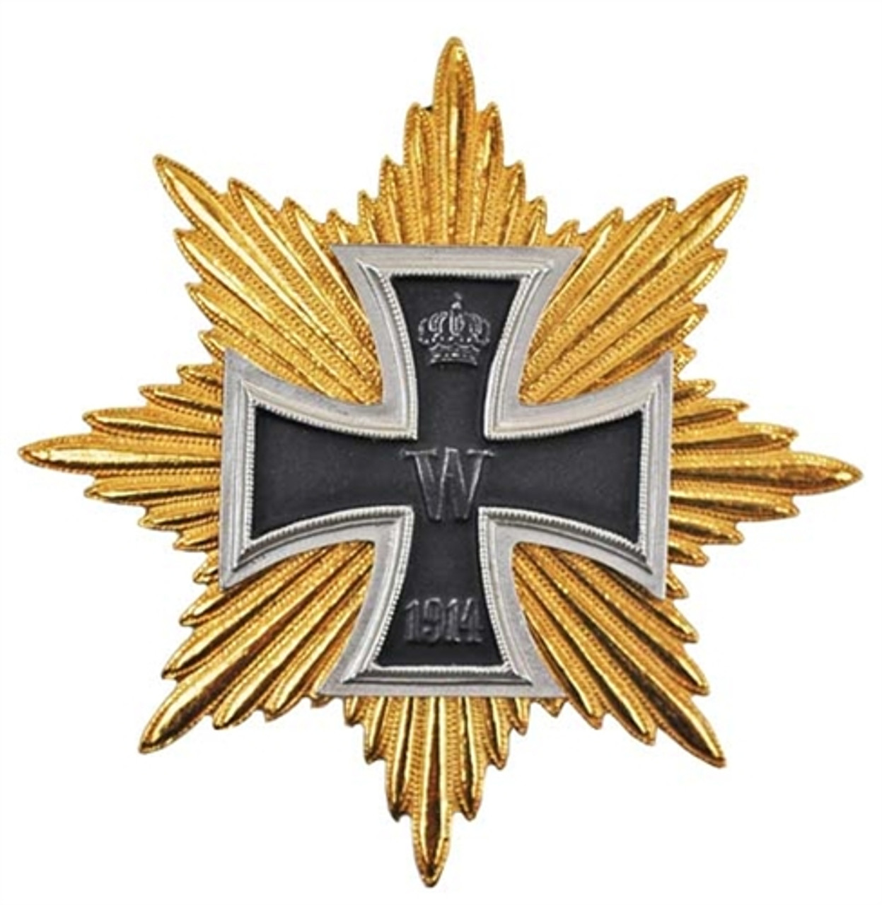 Star of the Grand Cross of the Iron Cross (1914) from Hessen Antique