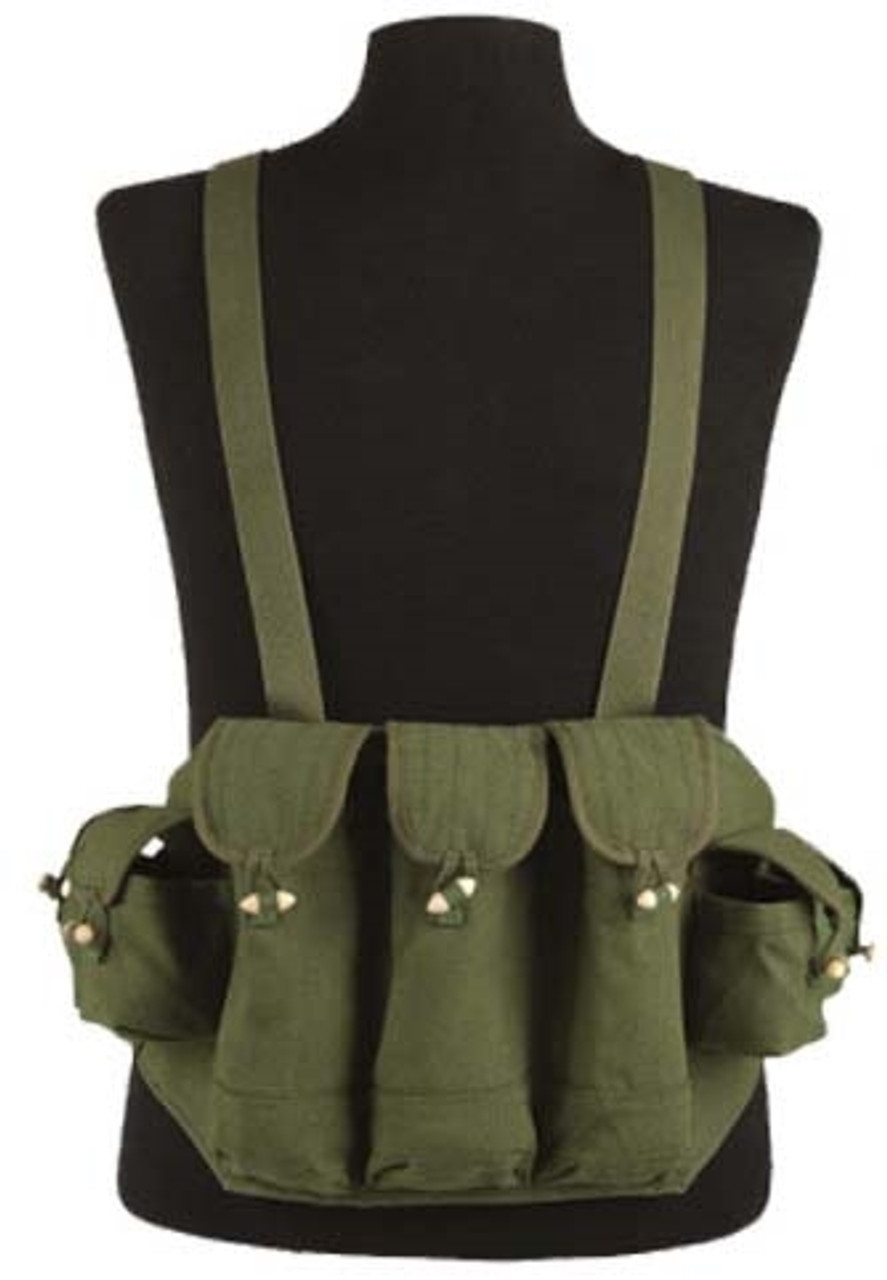Mil-Tec AK-47 OD 7 Pocket Chest Rig from Hessen Antique
