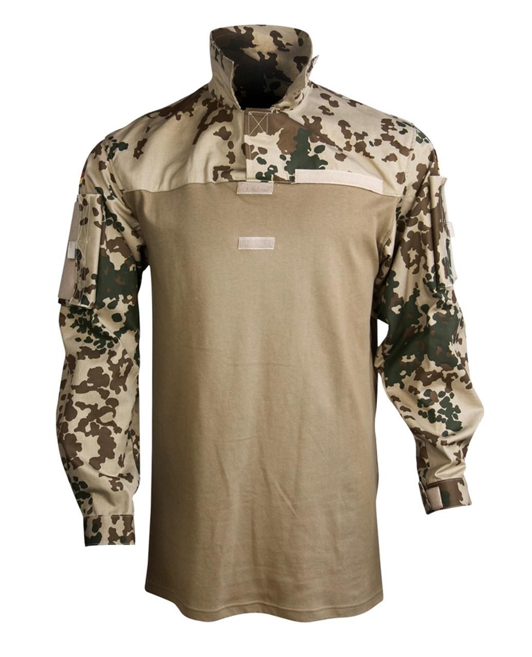 Flecktarn Bw Tropical Combat Shirt from Hessen Antique