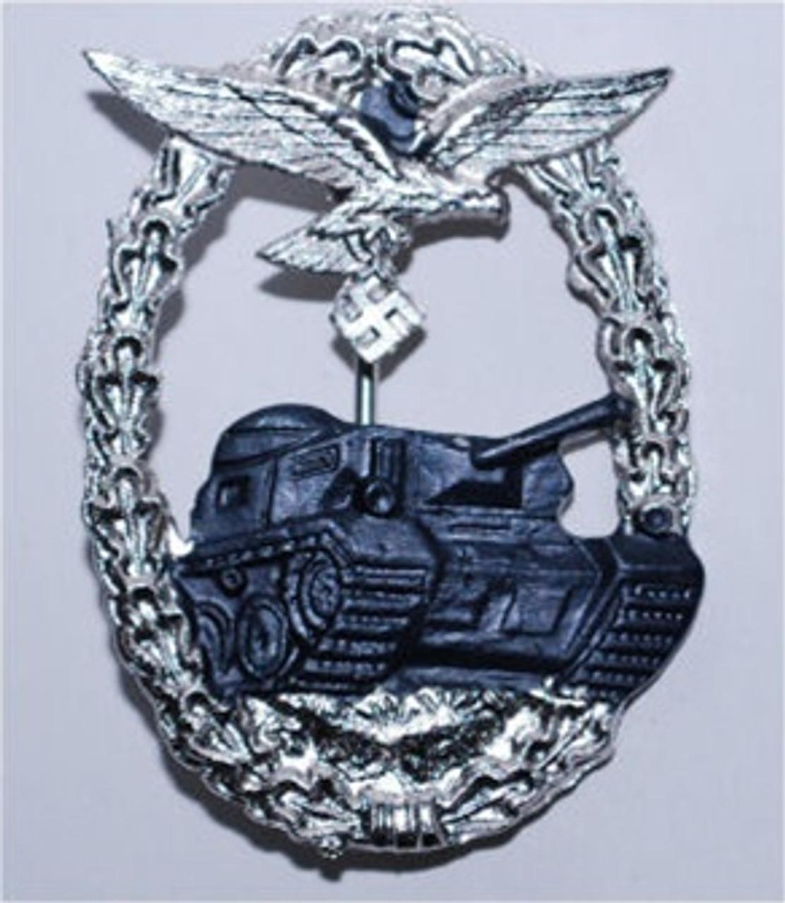 Luftwaffe Ground Panzer Assault Badge (Panzerkampfabzeichen) from Hessen Antique