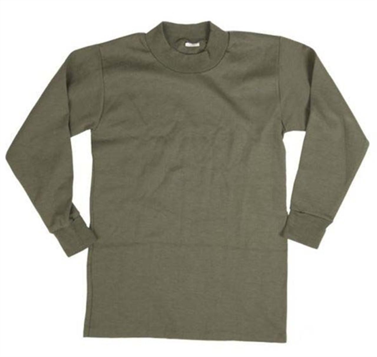 Belgium OD Long Sleeve Undershirt from Hessen Surplus