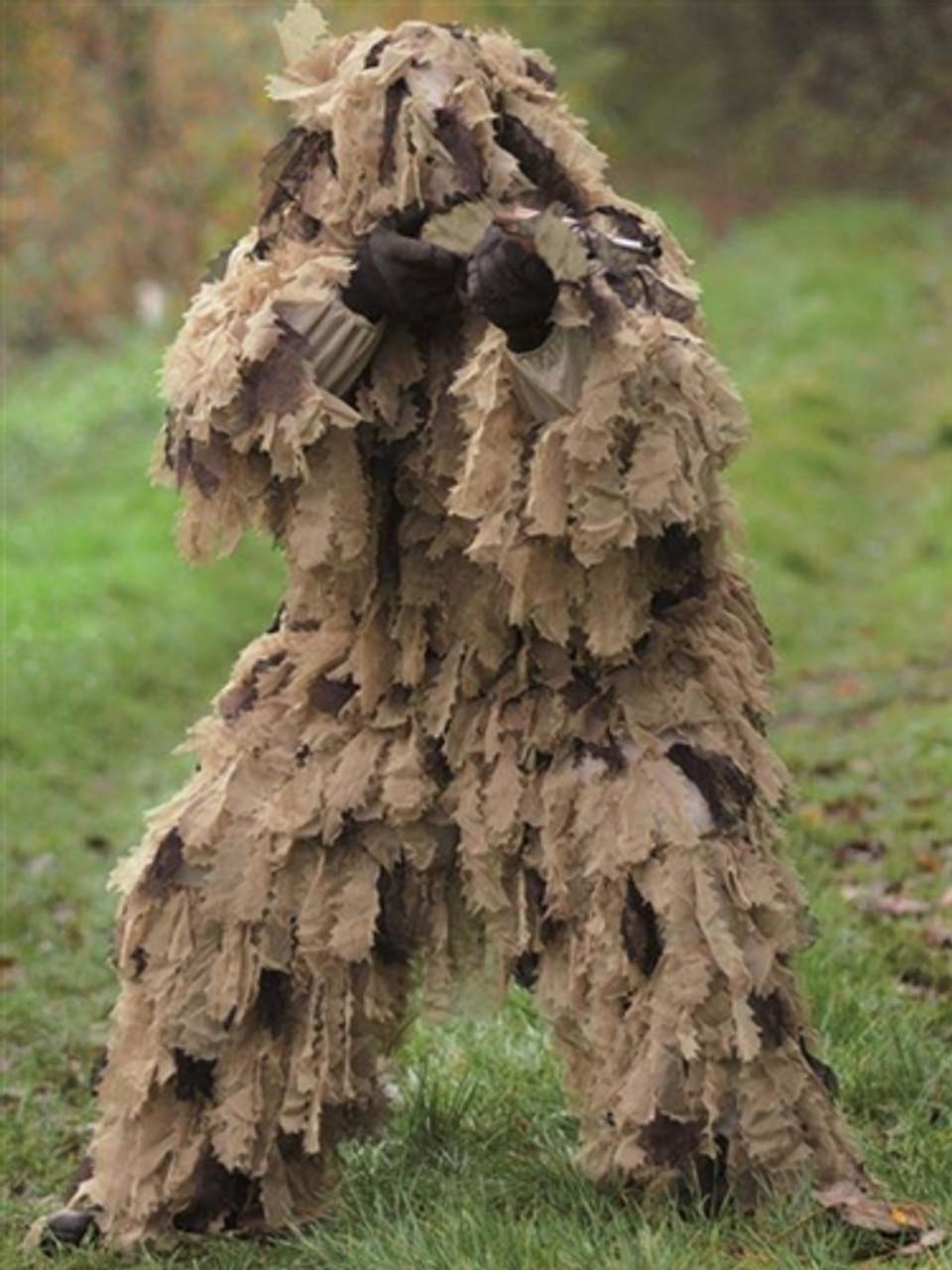 Mil-Tec Oak Leaf 3D Camo Ghille Suit from Hessen Antique