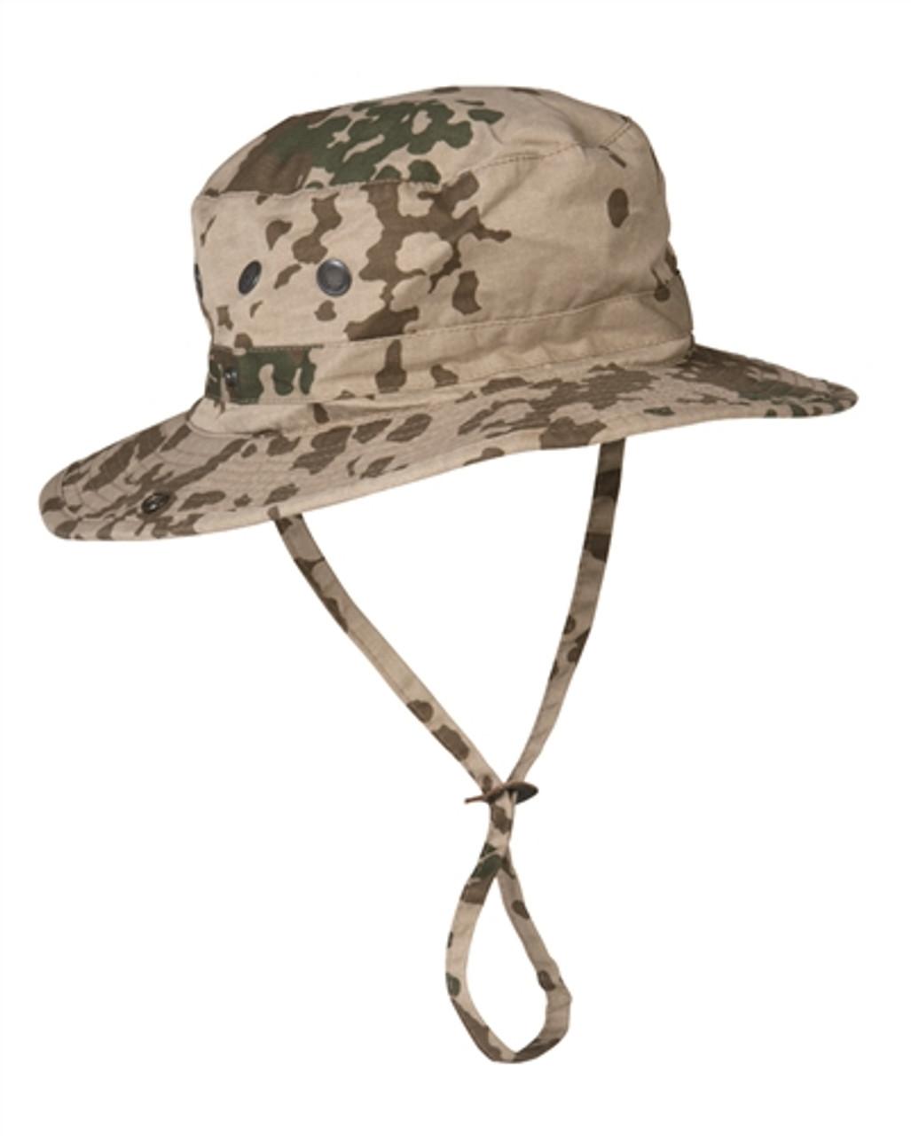 Bw Flecktarn US Style Boonie Hat from Hessen Antique