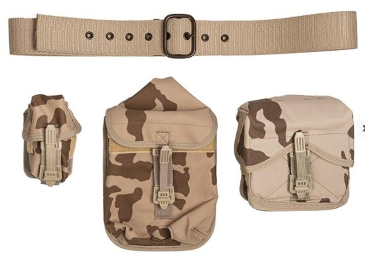 Czech Army 4 Piece Tropical Camo Harness Set from Hessen Antique