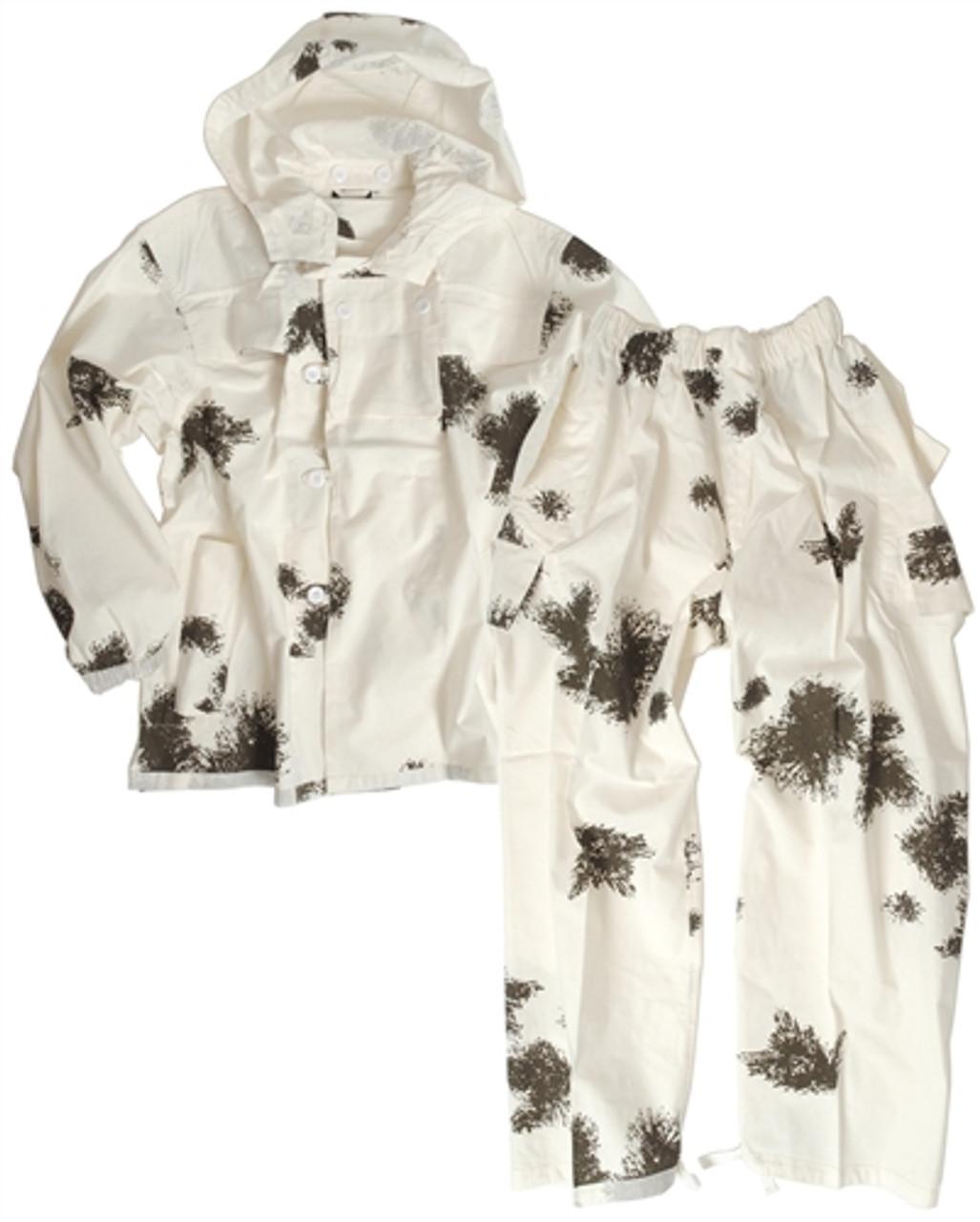 German 2 Piece Snow Camo Suit  from Hessen Surplus