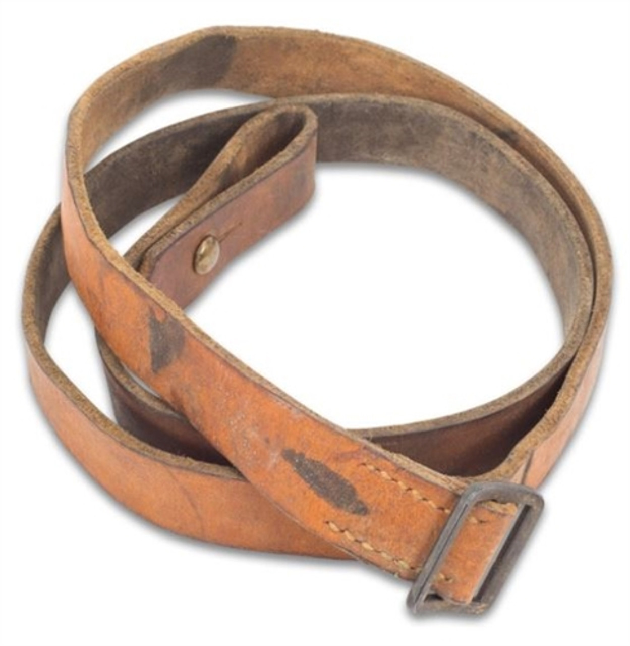 Yugoslavian M56 Leather Sling - Usedfrom Hessen Antique