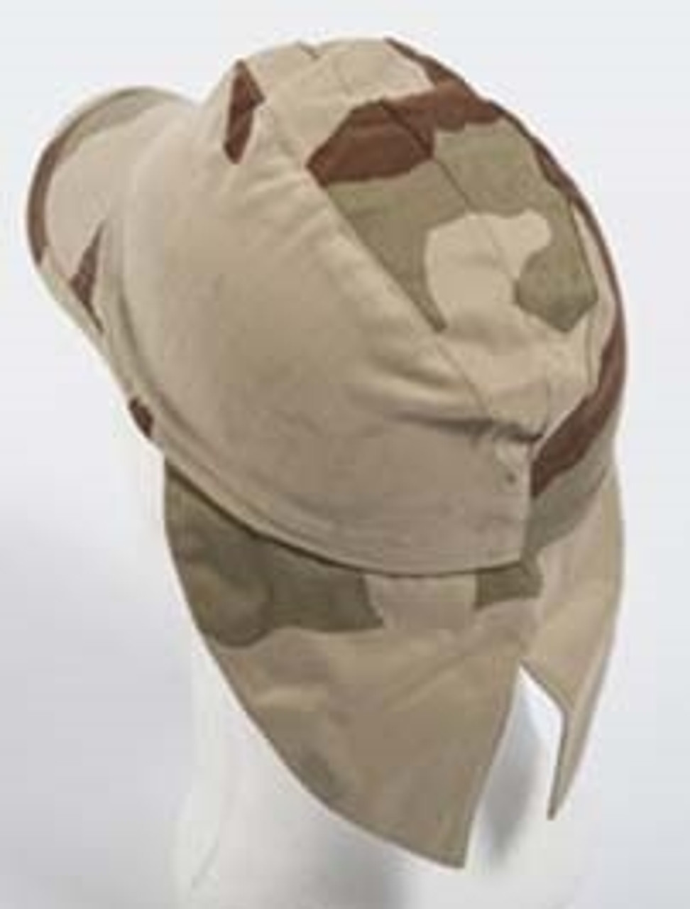 French Desert Camo Field Cap With Neck Flap from Hessen Surplus