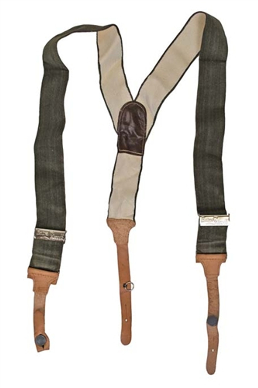 East German Pants Suspenders from Hessen Antique