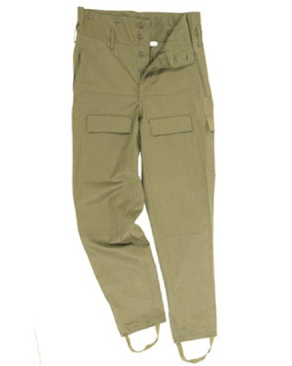 Czech OD M85 Field Pants - Used from Hessen Antique
