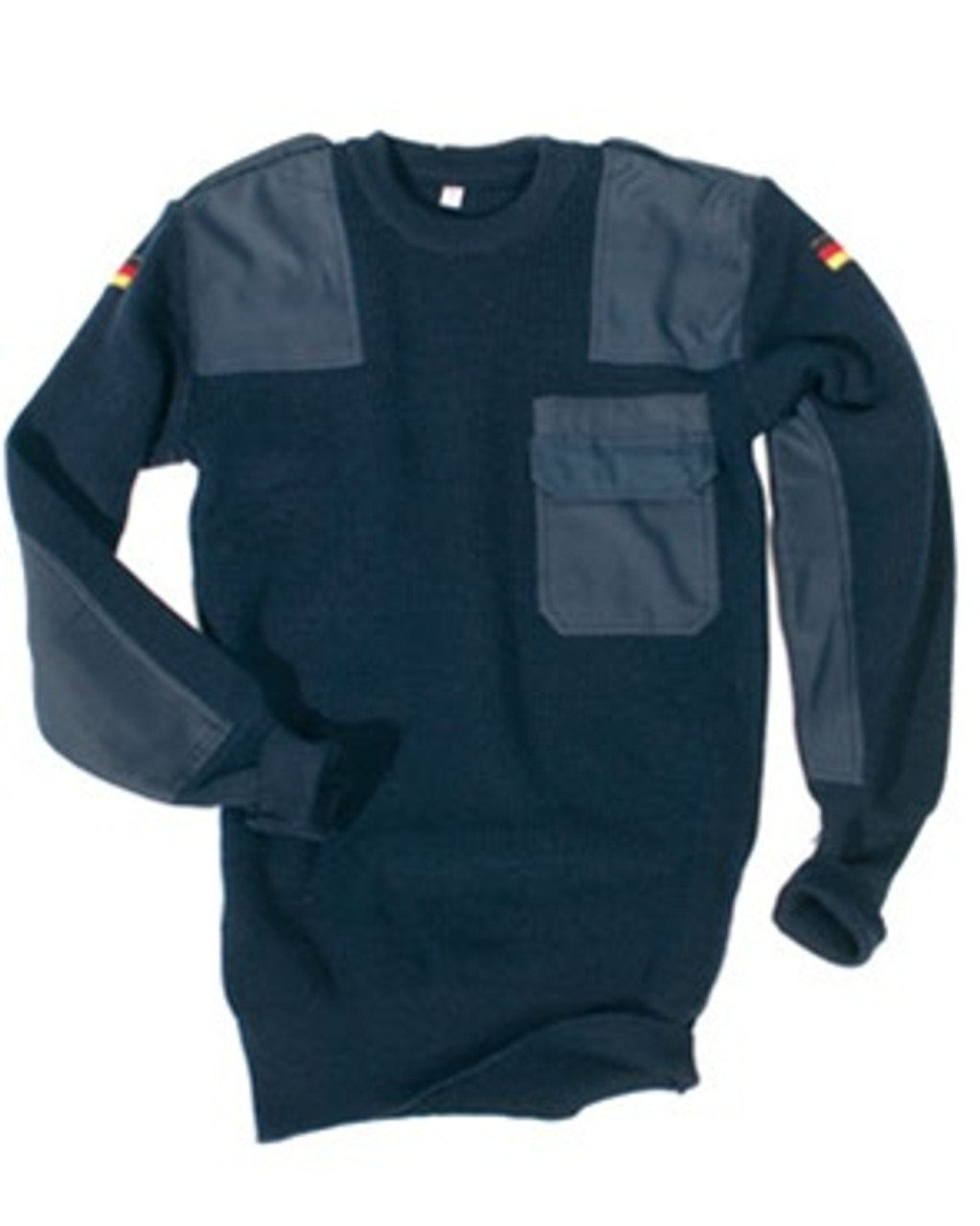 German Blue Commando Sweater from Hessen Antique